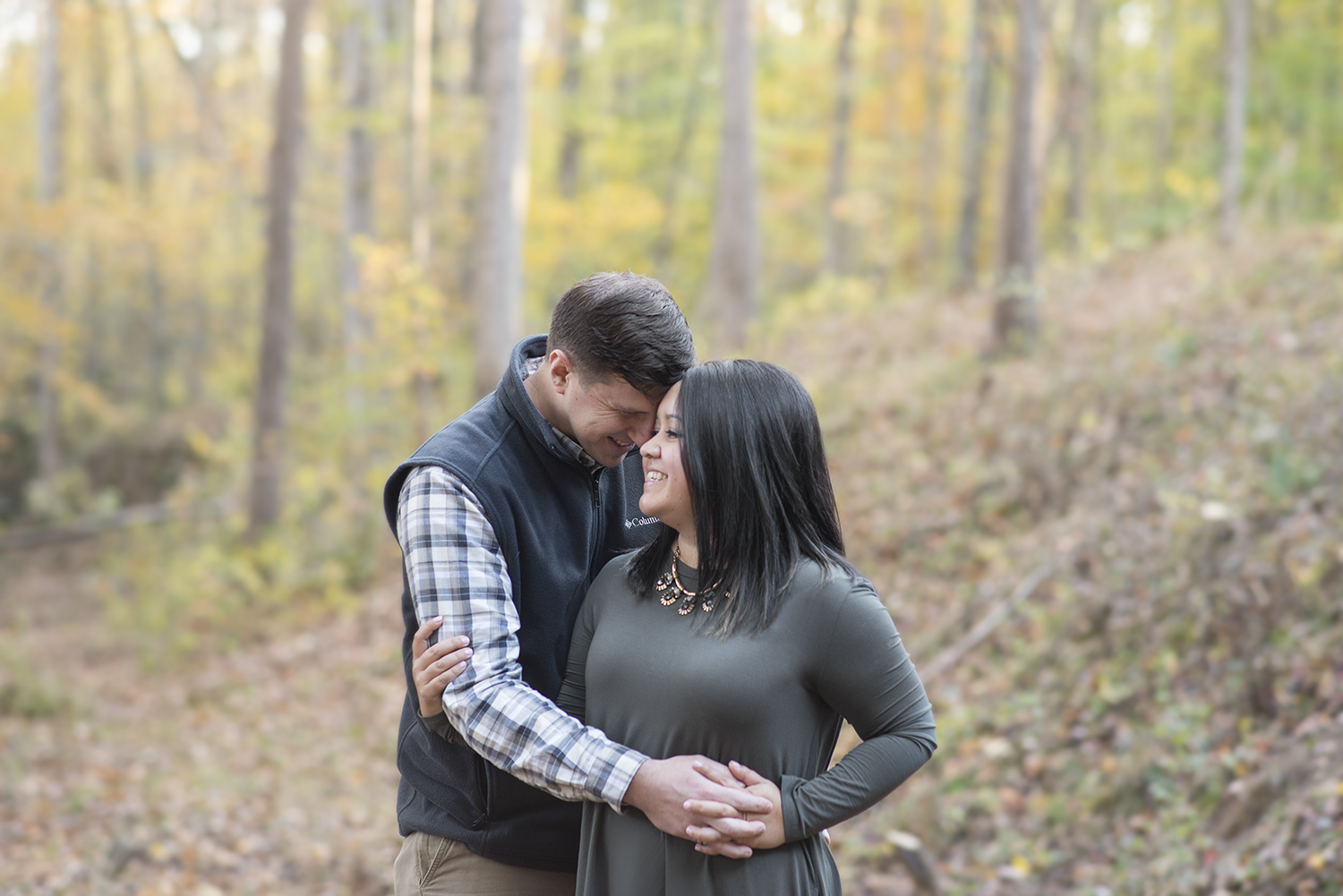 Geoff & Alicia's Landsford Canal Engagement Session | Charlotte, NC Wedding Photographer